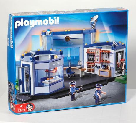 Playmobil 4263 Polizei Hauptquartier