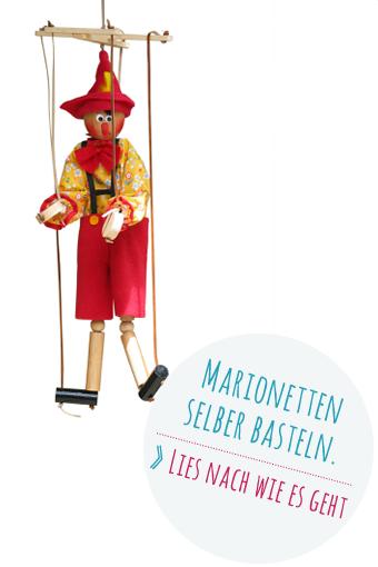 Marionetten selber basteln