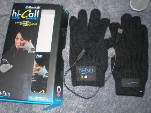Hi-Call Smartphone Handschuh