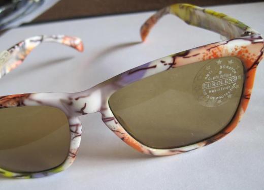 Mädchen-/Damen-Sonnenbrille, EUROLENS,kratzfest,100% UV-Schutz,ungetragen