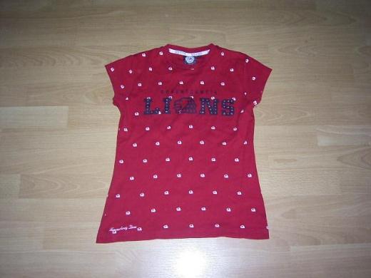 Fan T-Shirt von den Braunschweig Lions, rot, Gr. 170