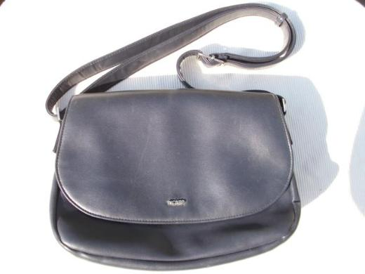 Picard Handtasche Damen Schultertasche Kunstleder dunkelblau 10,-