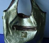Handtasche im Goldeffekt, nagelneu, unbenutzt - Simbach am Inn