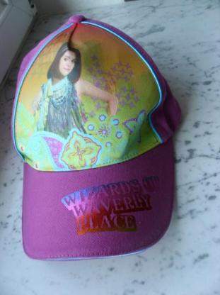 Disney Cap Schirmmütze Wizards of Waverly Place Mütze pink Die Zauberer vom Waverly Place, 3,-
