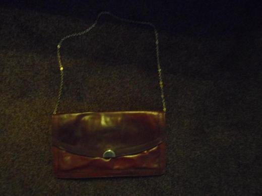 flache Handtasche
