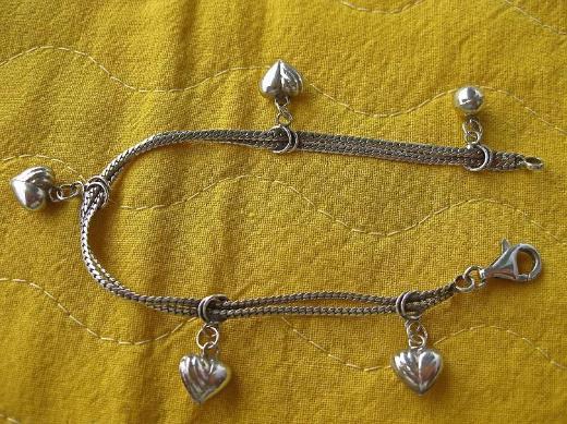 4 Silberketten