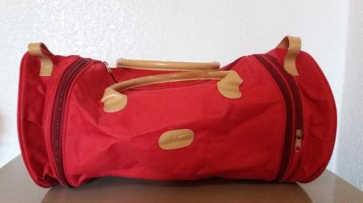 Rote Tasche mit teilbarem System - Ludwigshafen am Rhein Ruchheim