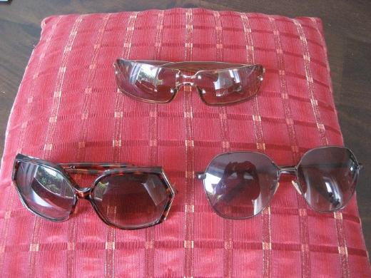 3  Damen Sonnenbrillen