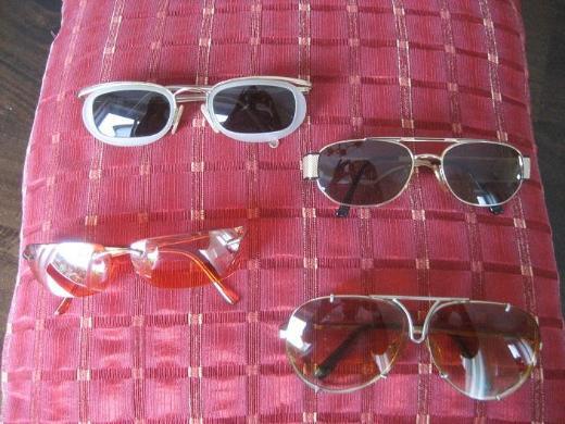 4 Damen Sonnenbrillen