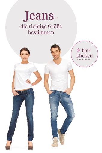Jeansgröße bestimmen