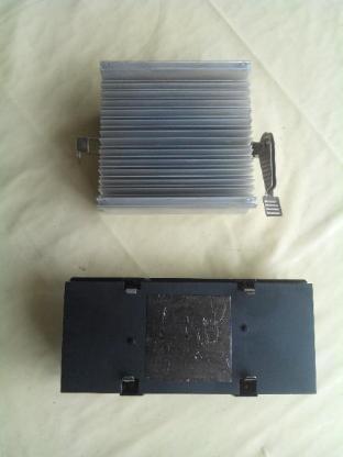 3 Stück Slot 1 Pentium II/III CPU Heat-Sink Kühler+AMD Sockel Alu Kühlrippen - Verden (Aller)