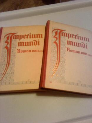 Imperium mundi 2 Bände - Bremervörde