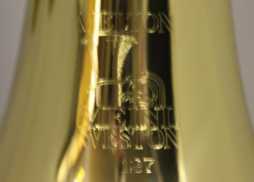 Melton / Meinl Weston Profiklasse Basstrompete, 4 Drehventile, Mod. 127 - L, Neuware - Bremen Mitte