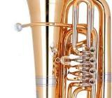 Miraphone 91A Goldmessing Tuba in BBb inkl. Miraphone Gigbag. Neuware