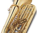 Jupiter Tuba, 4 Ventile, Modell 482L, Neuware mit Rollenkoffer