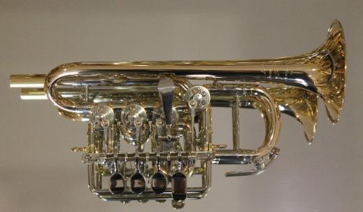 Meister J. Scherzer Piccolotrompete, Mod. 8111-L, Neuware inkl. Doppelkoffer - Bremen Mitte