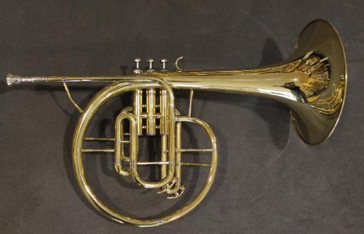 Kühnl & Hoyer F und Eb / Es - Mellophon. Messing lackiert - Bremen Mitte