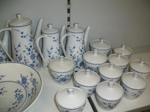 Seltmann Weiden Porzellan – Doris Bayerisch Blau - Wagenfeld