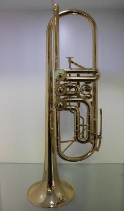 Meister J. Scherzer Profiklasse Konzert - Trompete 8228 AU - echt vergoldet - Bremen Mitte