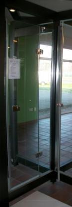 Duschtür Duschkabine Drehtür Glas Breuer Comforta 1900x800mm Ausstellungsstück - Wagenfeld