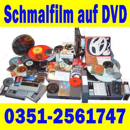 Schmalfilmrollen auf DVD in Maximalqualität !