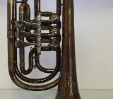 Melton 129 V Basstrompete in Bb, Vintage - Sonderanfertigung, Neu
