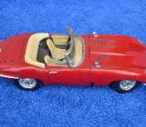 Jaguar E-type 1961 Burago Modellauto 1:18 - Verden (Aller)