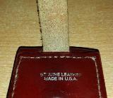 Zippo Ledertasche Halter mit Gürtelschlaufe in Leder braun - Verden (Aller)