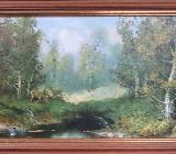 Ölbild auf Leinwand - Wildeshausen