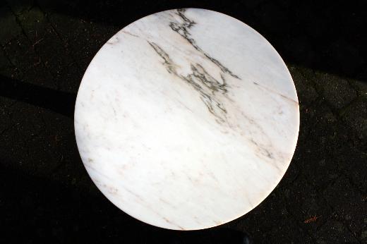 Beistelltisch, Marmor, rosa marmoriert, Unikat - Bremen