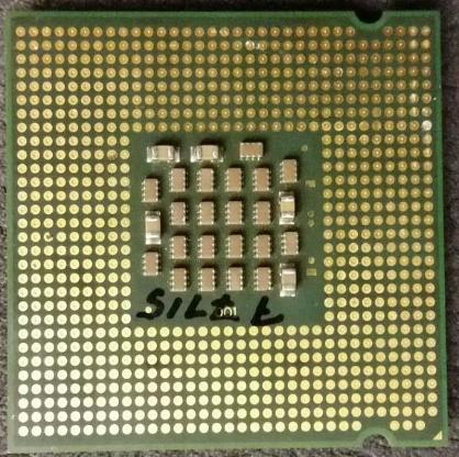 Intel® Celeron® D Processor 346 (256K Cache, 3.06 GHz, 533 MHz FSB) - Oyten