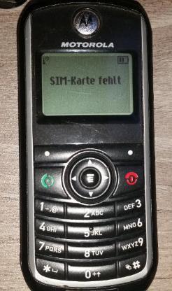 Motorola C118 Tasten Handy schwarz frei für alle Netze - Verden (Aller)