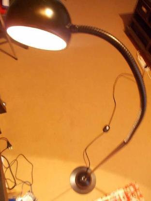 Halogen Stehleuchte, Leseleuchte plus 6 Glühbirnen - Achim
