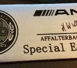 2 x AMG Sticker Logo Schriftzug Emblem B,E,C,SL,CLS,S,CL,A,G - Verden (Aller)
