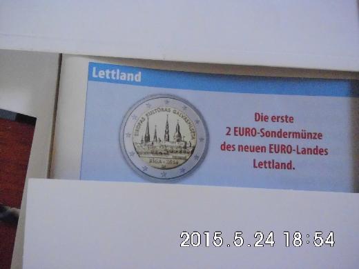 2 Euro Lettland 2015 - Bremen