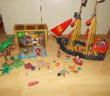 Playmobil Piratenschiff + Piraten Truhe + Extras ! - Edewecht
