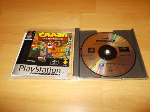 Crash Bandicoot für Playstation 1 ( PS1 ) TOP ! - Edewecht