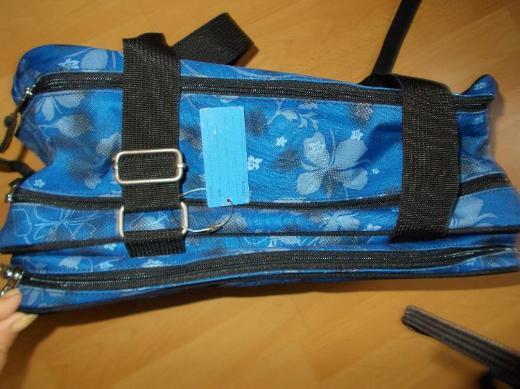 UNBENUTZTES ! 4 YOU Schulrucksackset Blue Blooms 3 Teilig - Edewecht