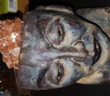 Keramik Büßte mit Aragonit Igel zu verkaufen. - Bremen