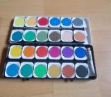 Tuschkasten mit 24 Farben NEU ! - Edewecht