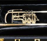 J. Scherzer Profiklasse Konzert -Trompete in B, Kölner Modell 8218 W versilbert - Bremen Mitte