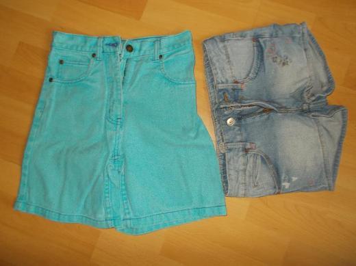 7 + 1 Sommer / Kurze Hosen Paket für Mädchen in 140 - Edewecht