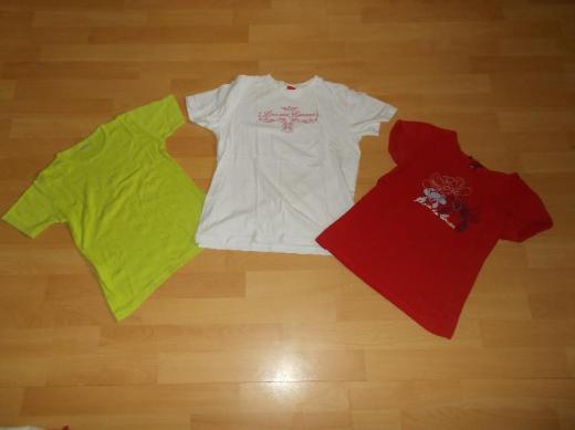 13 Teiliges T - Shirt + 1 Bolero Paket für Mädchen in 140 - Edewecht
