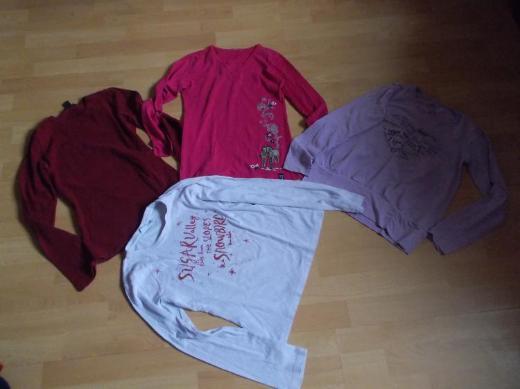 13 + 1 Bekleidungs Paket für Mädchen in 140 - Edewecht