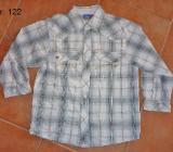 Neuwertiges langärmeliges Hemd Gr. 122 (128) von Topolino - Bremen