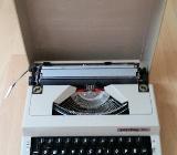 Alte Koffer Schreib Maschine / Privileg 160 T - Verden (Aller)
