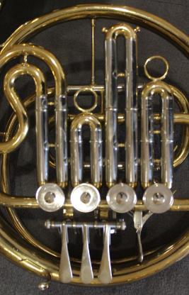 Yamaha Bb - Waldhorn, 4 Ventile mit Originalkoffer - Bremen Mitte