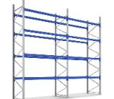 Palettenregal NEU Fachlast 3.000kg Höhe:5,50m für 105 Stellplätze - Wilhelmshaven
