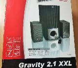 Gravity 2.1 XXl SL- 8232 Subwoofer inklusive Lautstärkebedienung - Verden (Aller)