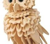 3D Holzpuzzle Eule, NEUWARE - Scheeßel